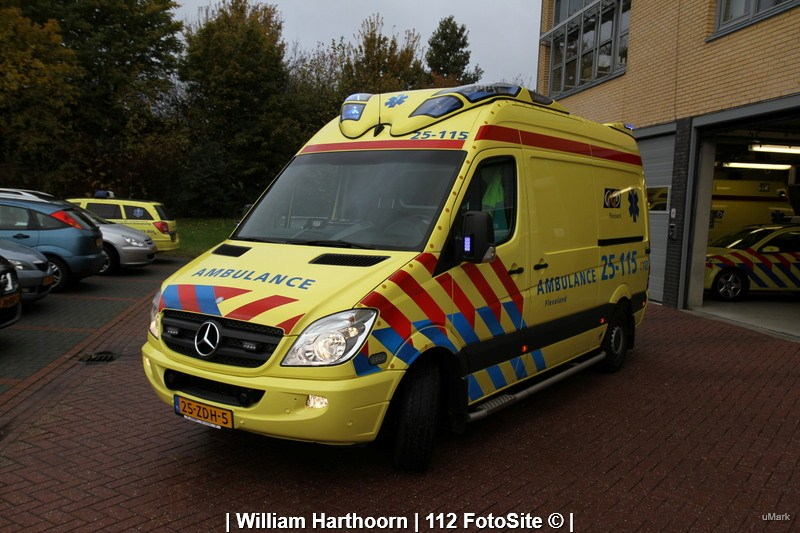 Ambulance Regio 25 Regio Flevoland 112 Fotosite